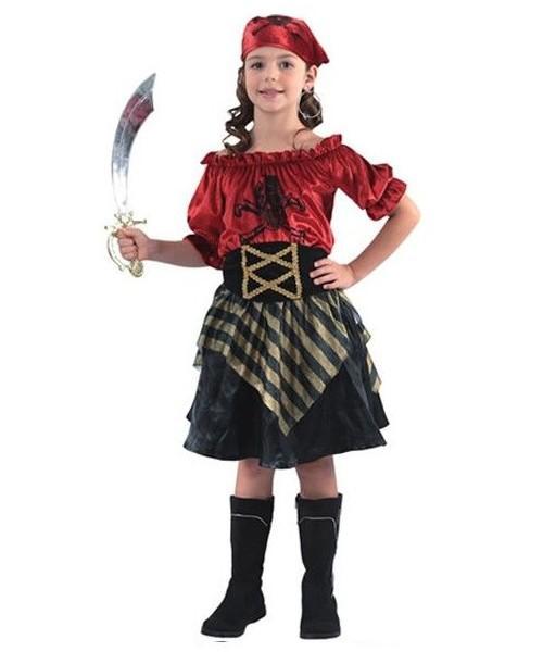 Disfraz de Pirata Roja