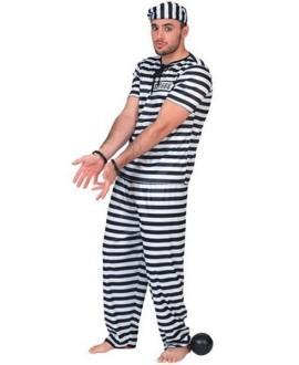 Disfraz de Preso Adulto
