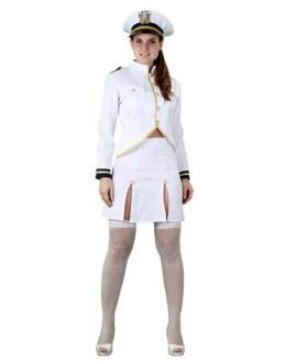 Disfraz Cadete Armada Americana mujer