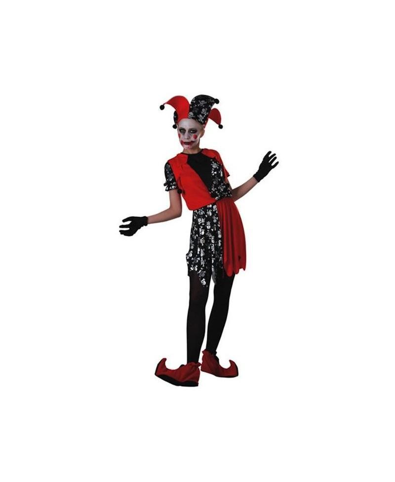 Disfraz de Bufón chica