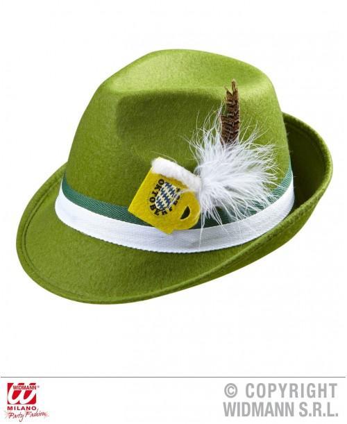 Sombrero Bávaro con Pluma