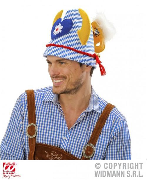 Sombrero Oktoberfest con Cuerno