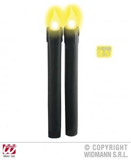 Velas Led Negras