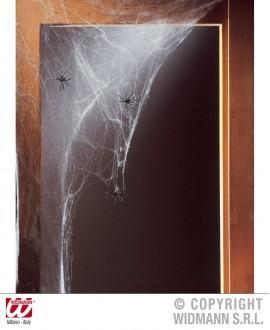 Telaraña Blanca con 20 arañas