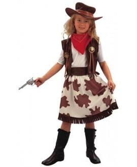 Disfraz de Vaquera para Niñas