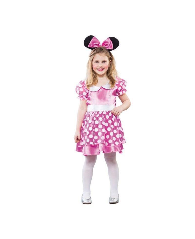 Disfraz de Ratita Rosa para Niñas