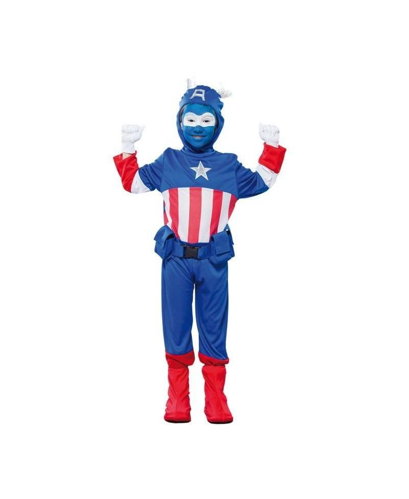 Disfraz Capitán Azul para Niños