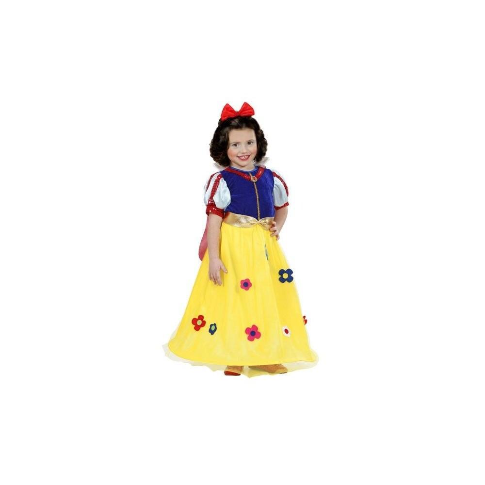 Disfraz de princesa de cuento blancanieves para ni as - Disfraces de angel para nina ...