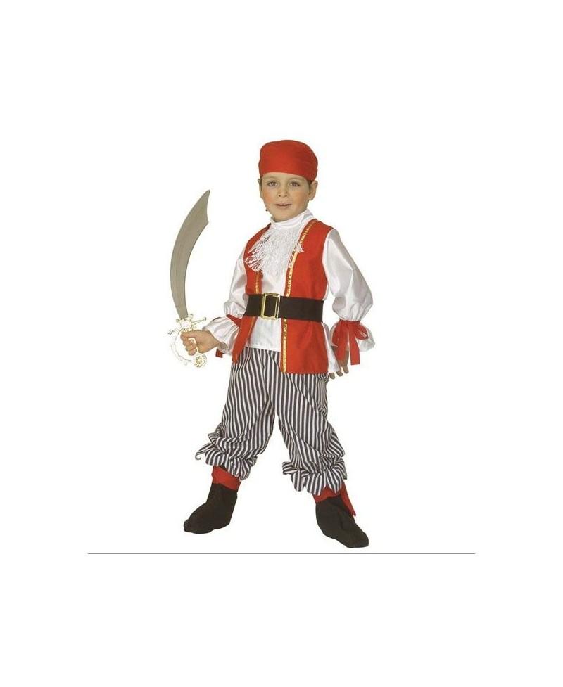 Disfraz de Pirata para niño de 3 a 5 años, Comprar Disfraz P