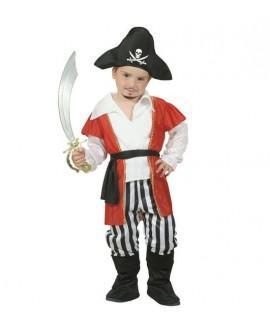 Disfraz de Pirata con gorro para niño