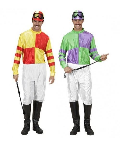 Disfraz de Jugador de Jockey para adultos