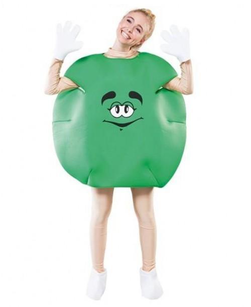 Disfraz de Caramelo Verde Adulto