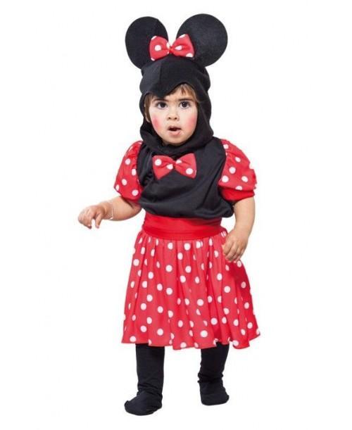 Disfraz de Ratita para niñas de 2 a 4 años