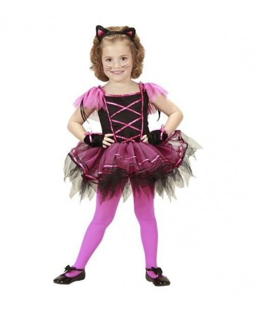 Disfraz de Gatita Bailarina para niña