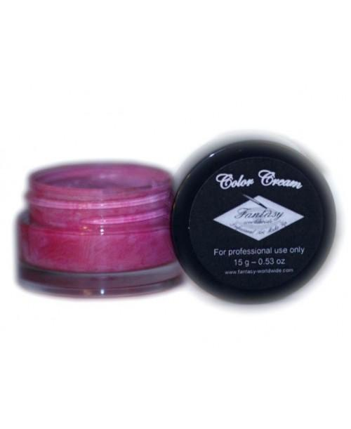 Maquillaje en Color Rosa Oscuro