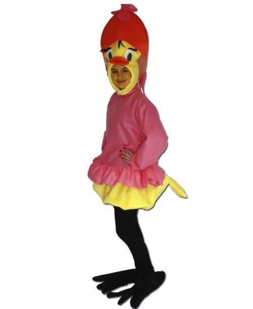 Disfraz de Pollito Chica