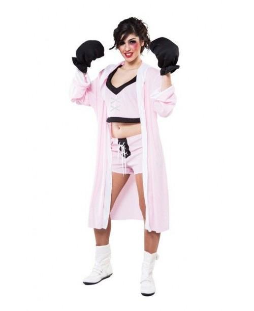 Disfraz de Boxeadora para Mujer