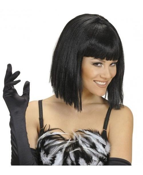 Peluca Morena de Showgirl