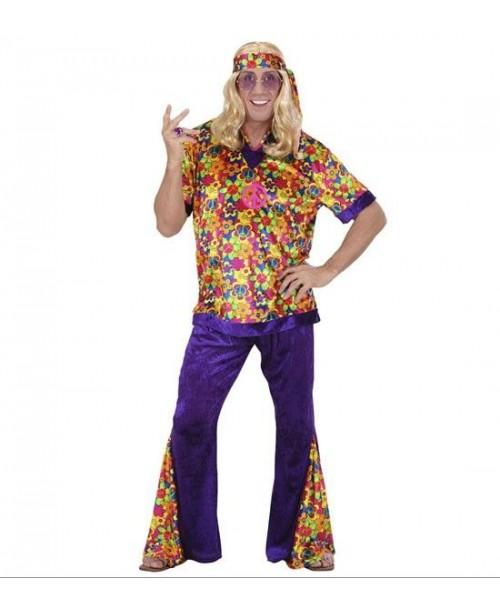 Disfraz de Hippie para Chico