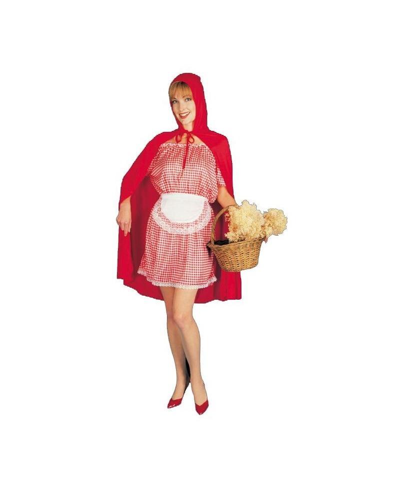 Disfraz de Caperucita