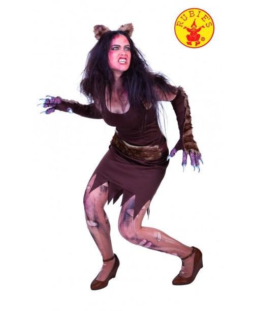 Disfraz de Loba Wolfa para Mujer
