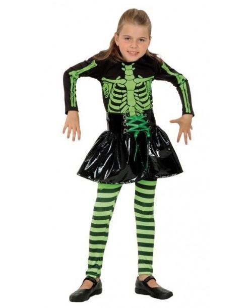 Disfraz Esqueleto Niñas