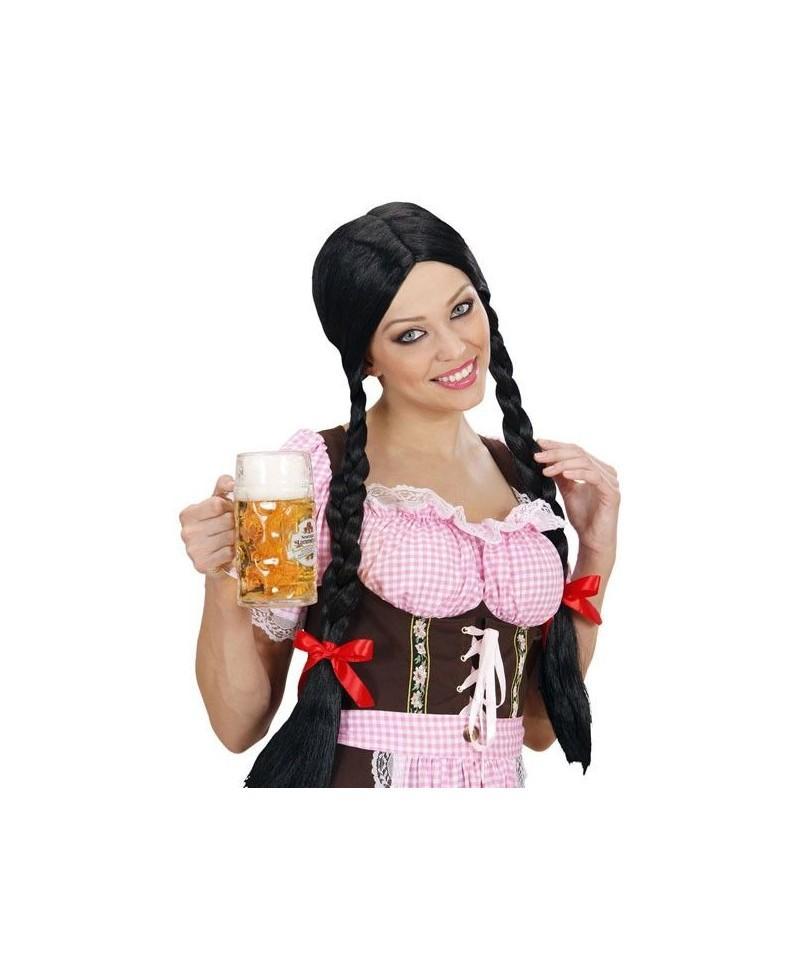 Peluca Gretel Negra