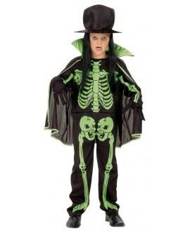 Disfraz Esqueleto con Sombrero