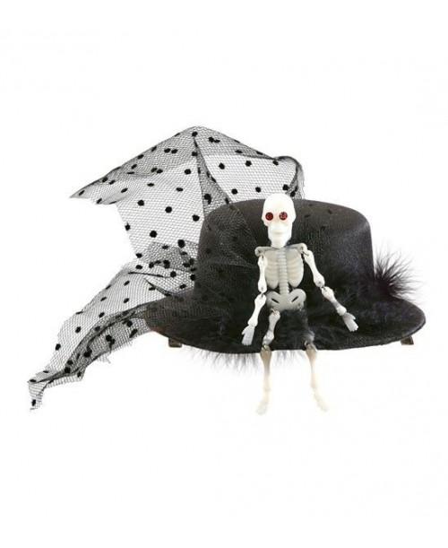 Mini Sombrero Esqueleto