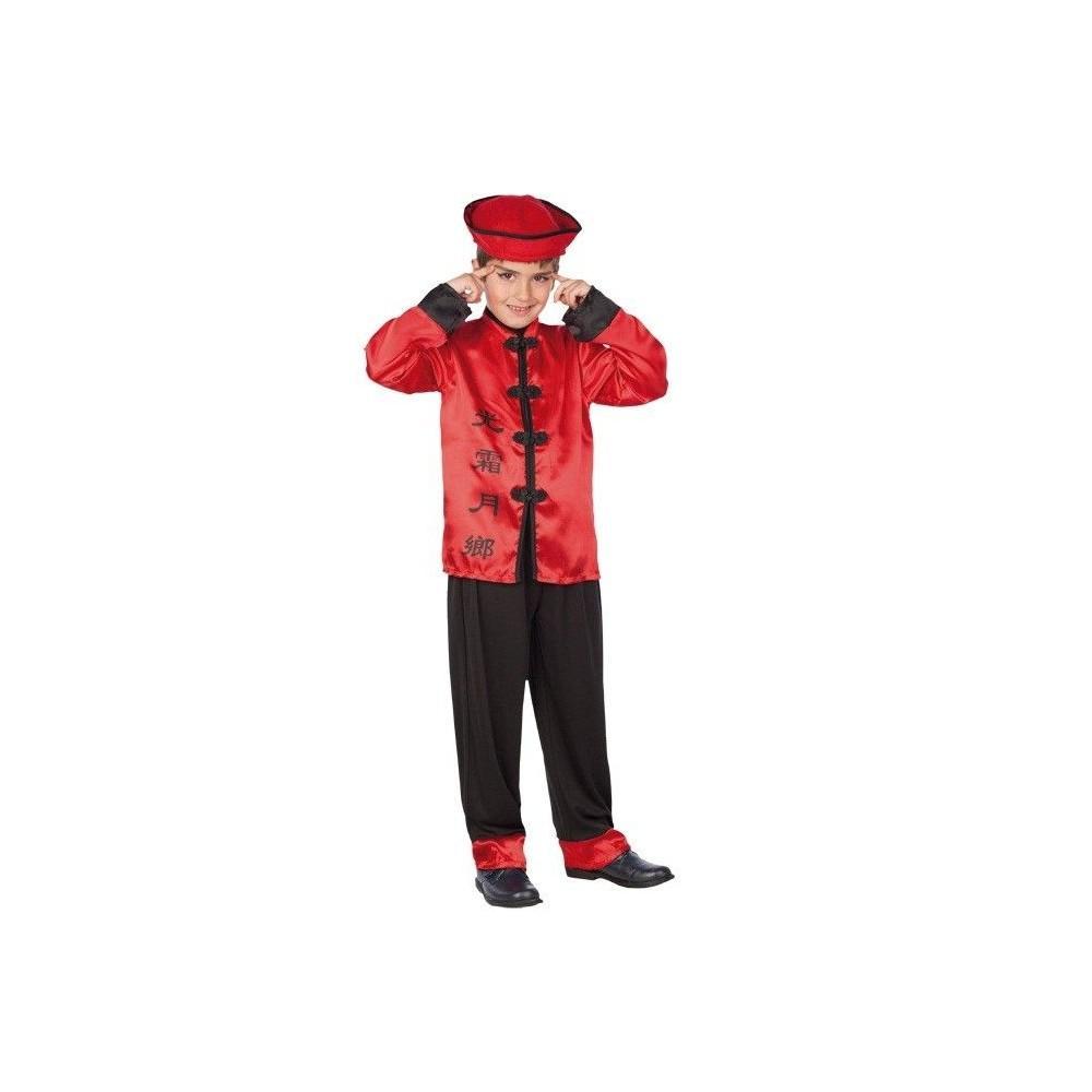 Disfraz de chino para ni os disfraces orientales - Disfraz de angel para nino ...