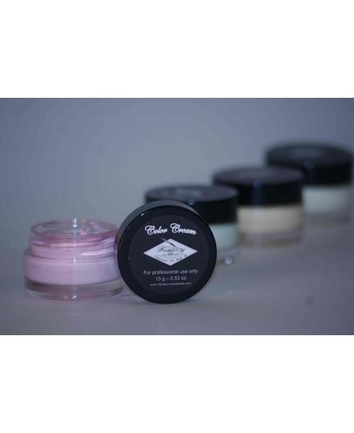 Maquillaje en crema color Rosa