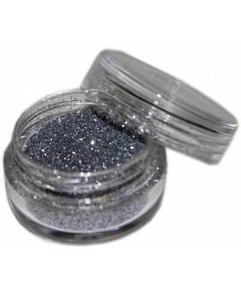 Maquillaje purpurina Plata