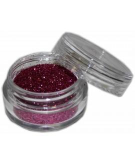 Maquillaje purpurina Fucsia