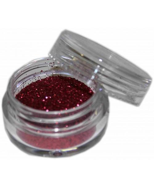 Maquillaje purpurina Rojo