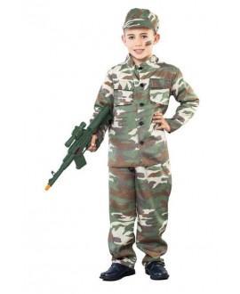 Disfraz de soldado
