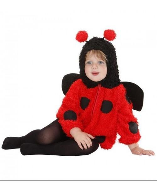 Disfraz de Mariquita Fuzzy para Bebés