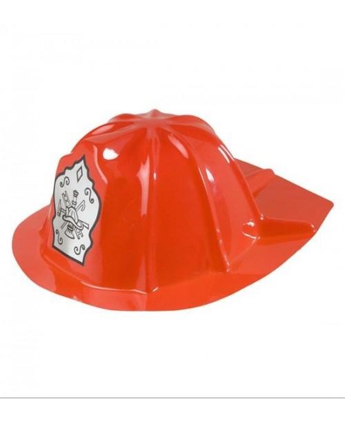 Gorro Bombero Rojo