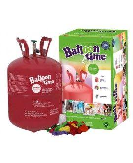 Botella Helio Desechable Pequeña (30 globos incluidos)