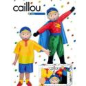 Disfraz de Caillou (2 disfraces) caja
