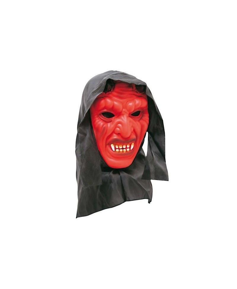 Máscara Diablo con Capucha