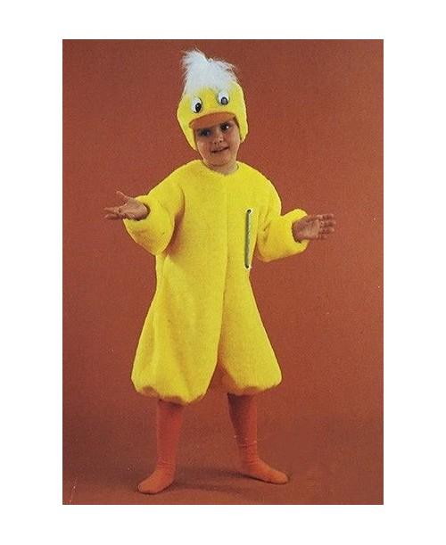 Disfraz de Pollito Amarillo Niños