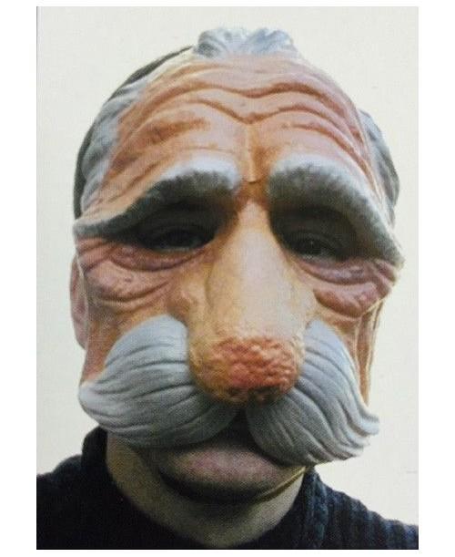 Máscara Viejo con Bigote