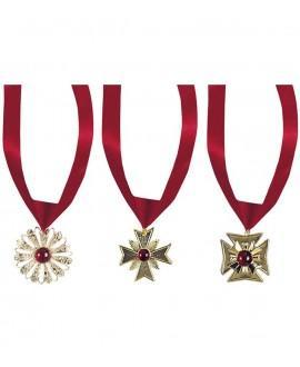Colgante con Medallón y Piedra