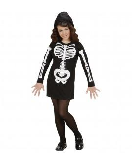 Disfraz Esqueleto Glamour Niña