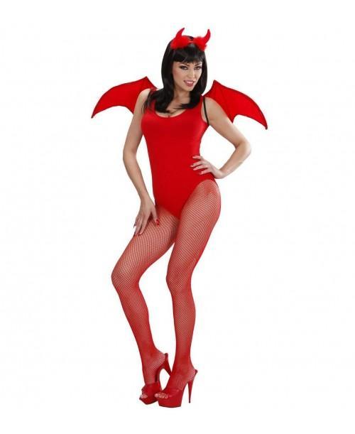 Set Disfraz Diablo Rojo