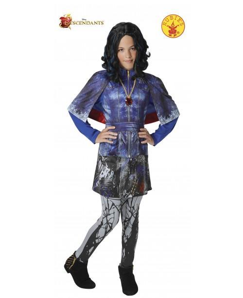 Disfraz de Evie Deluxe para Niña