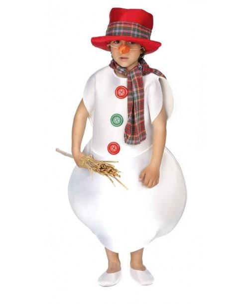 Disfraz Infantil Muñeco de Nieve