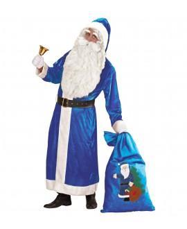 Disfraz de Santa Claus Azul