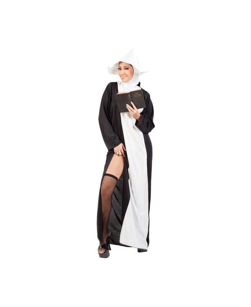 Disfraz de Monja Sexy para Adultos - Casa del disfraz®