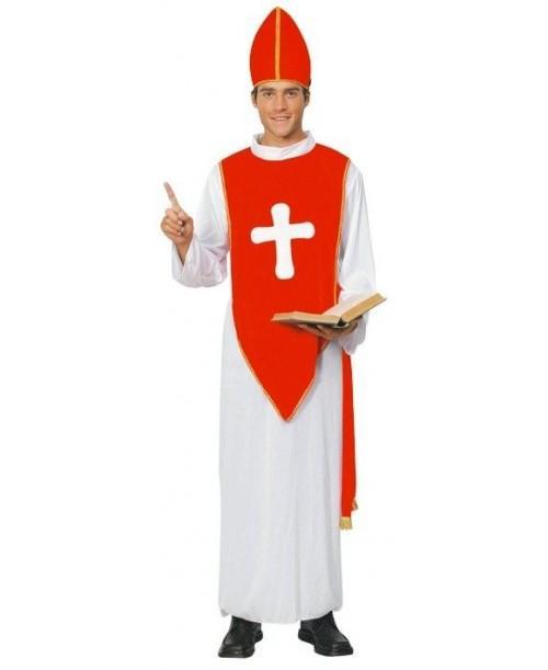 Disfraz de Obispo para adulto